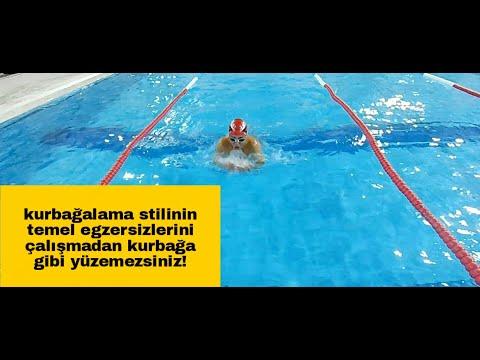 Kurbağalama yüzme stili nasıl öğrenilir, teknik özellikleri ve Temel egzersizler