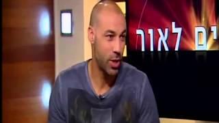 מאיר טפירו בראיון עם נתנאל סמריק באולפן הטלוויזיה של קונטנטו