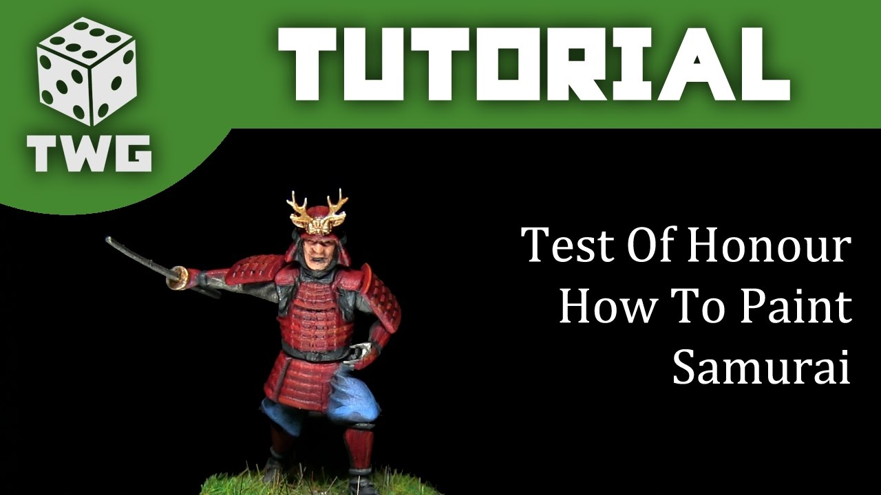 Test of Honour Tutorial How To Paint A Takeda Clan