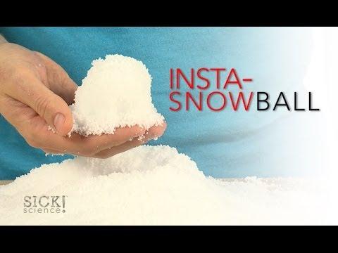 Insta-Snowball - Sick Science! #168