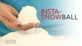 Insta-Snowball - Sick Science! #168