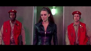 Elizabeth Hurley Mimi Rogers leather outfits