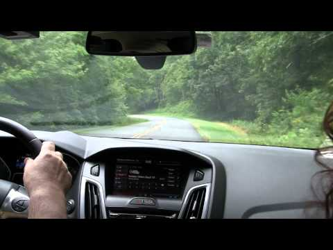Spirited Driving on the Blue Ridge Parkway