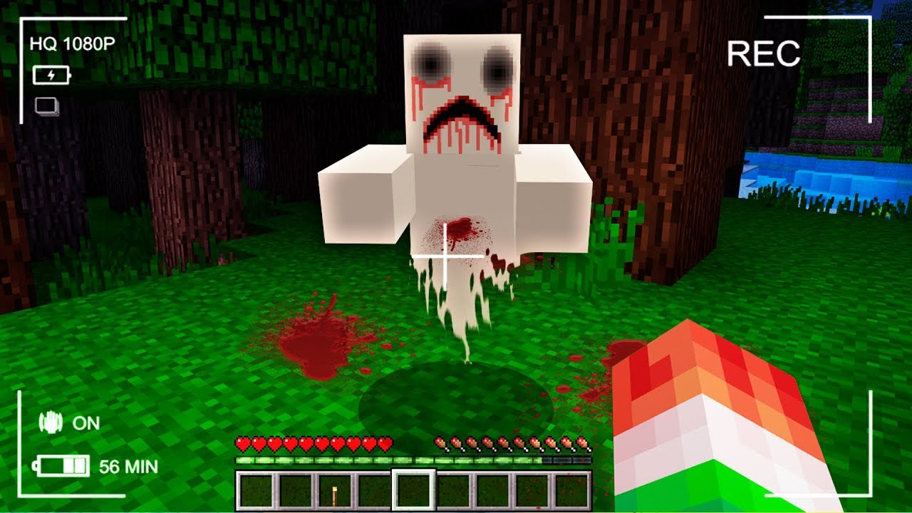 NEVER PLAY THIS MINECRAFT SEED (CREEPY SIGHTING)