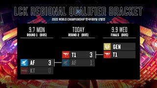 GEN vs. T1 | FINALS [2020 LCK Regional Qualifier]