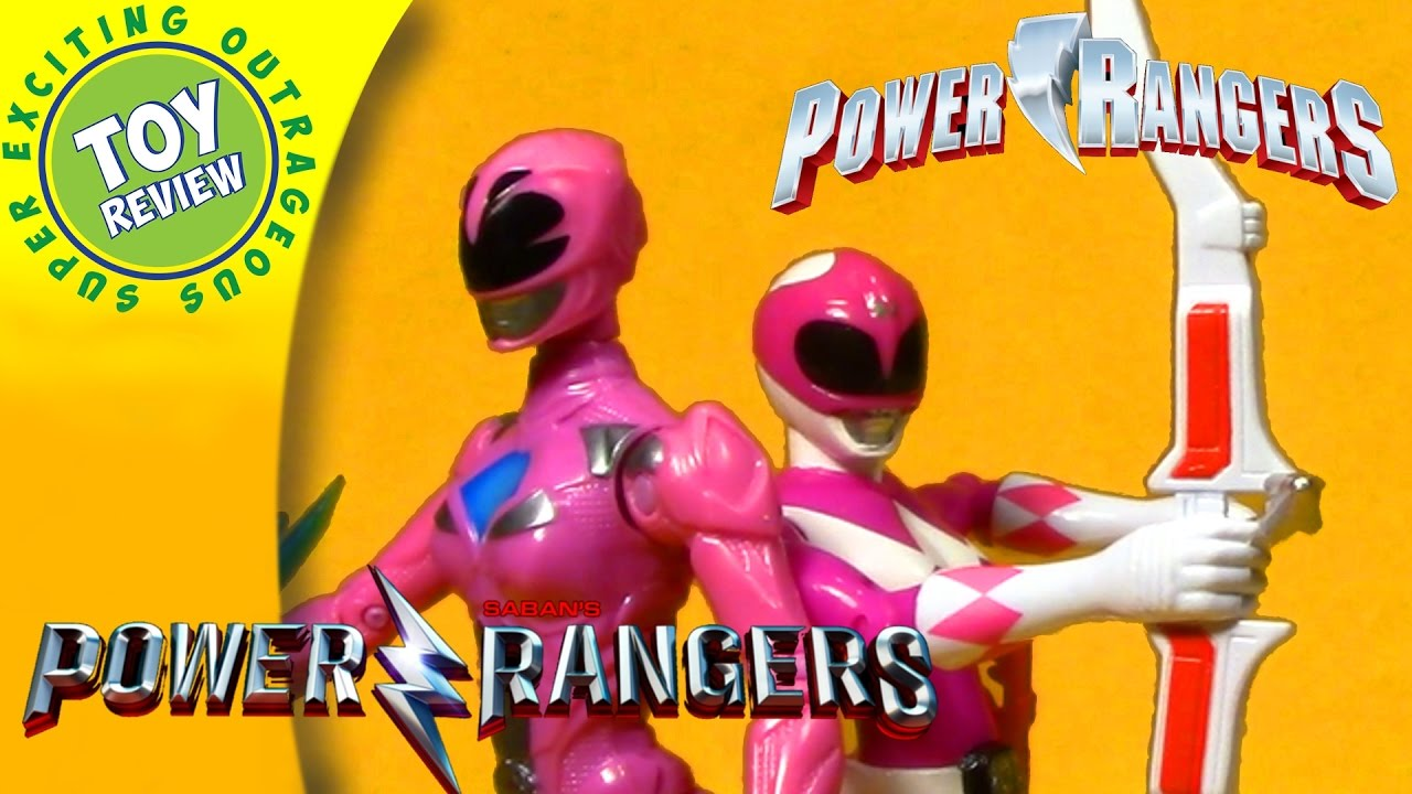 Walmart Power Rangers Pink Ranger Then Now 2 Pack Play With Toys