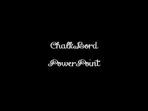 chalkboard effect powerpoint