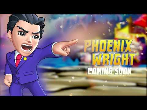 Phoenix Wright coming this week to Puzzle Fighter