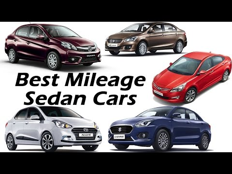 Best Mileage Cars - Sedans in India | Mileage, Performance, Price, Specifications