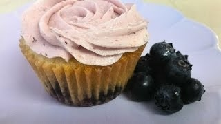 Frosting Blueberry Buttercream