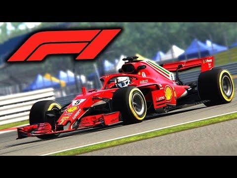 F1 2018 Mod Gameplay -  Assetto Corsa - Formula Hybrid 2018 RSS Mod