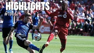 HIGHLIGHTS: Toronto FC vs. San Jose Earthquakes | June 7, 2014