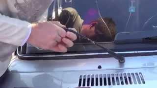 Как поменять дворники на ВАЗ 2107