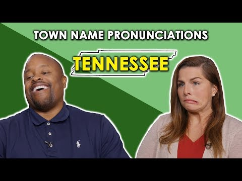 Stu - Can You Pronounce These Tennessee Towns?