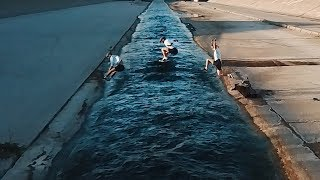 We jump the LA RIVER 🇺🇸