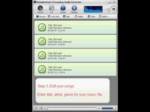 How to download,record streaming audio from online radio stations?