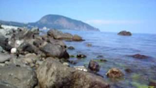 Гурзуф Крым, дикий пляж, 1 июня, вода 20 гр.(Гурзуф... лёгкий видео анонс без обработок и прочего... http://gurzuf.pro - цены на отдых в частном секторе Гурзуфа..., 2009-06-03T15:31:18.000Z)