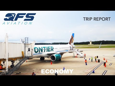 TRIP REPORT | Frontier Airlines - A321 - Islip (ISP) to Myrtle Beach (MYR) | Economy