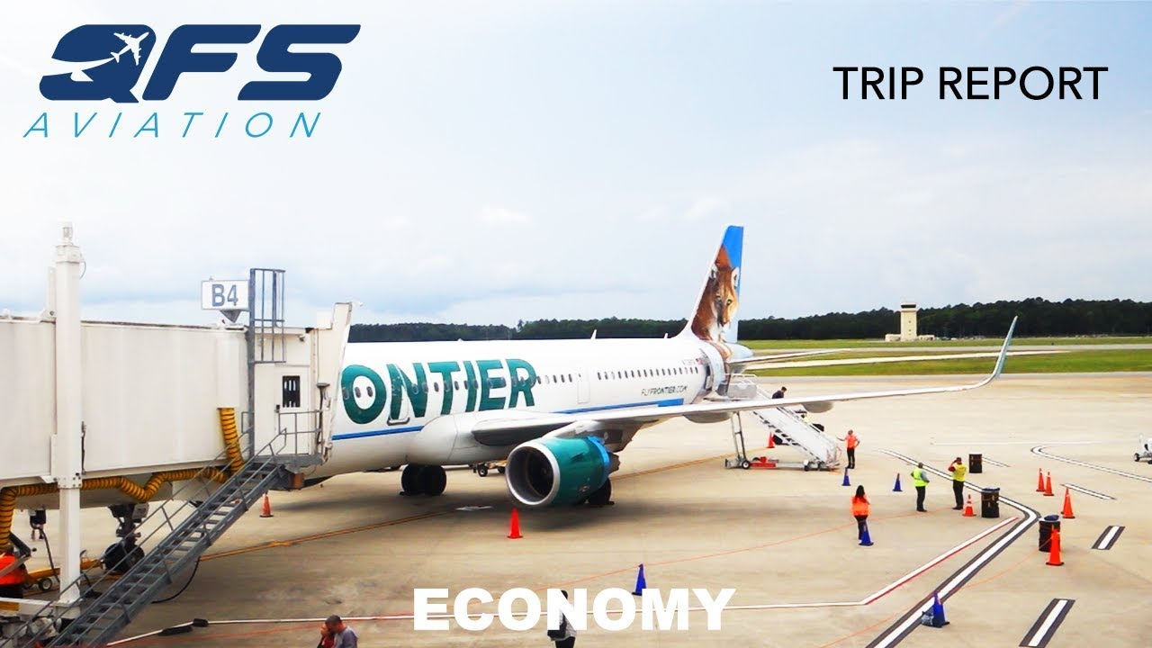 Frontier Airlines A321 Islip Isp
