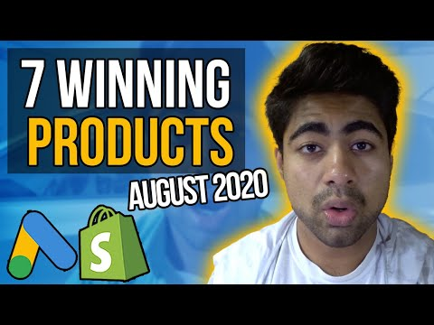 TOP 7 Winning Products For Google ADs | Best Shopify Dropshipping Products thumbnail