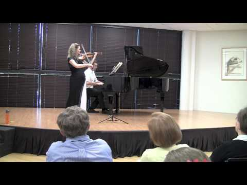 Rosalie Macmillan and Jed Moss: Mozart Sonata in B flat K454