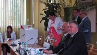 XXVII sesja Rady Powiatu �askiego cz.2