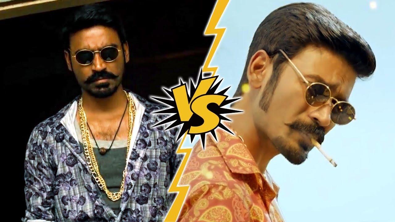 Maari vs Maari 2 Best Action Scene   Dhanush   Rowdy Hero   Which One Is Best?? (Best Fight Scene)