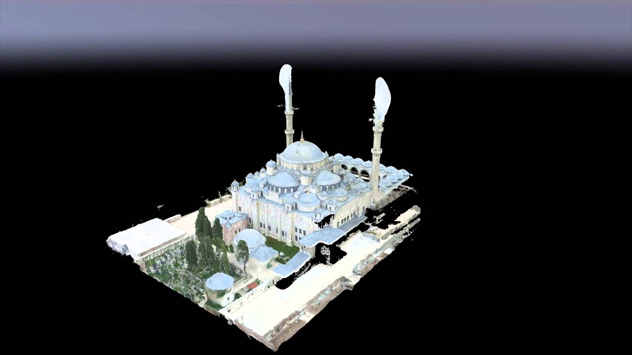 Heuvel io - 3D Point Clouds Fatih Mosque Istanbul