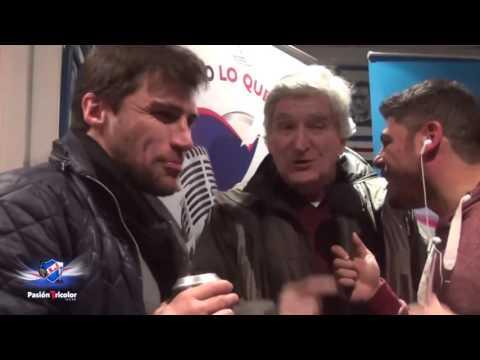 """""""Cacique"""" Medina y Taramasco en TU RADIO."""