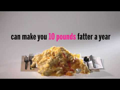 Man Drinking Fat-Fat. NYC Health Anti-Soda Ad.Are You Pouring on the Pounds.mp4