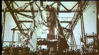 Launching of the Bismarck, 1939 - Film 90124