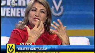 Entrevista Venevisión:  Yelitze Santaella, gobernadora de Monagas