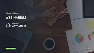 ObywatelIT webinarium#1 - obowiązek informacyjny koordynatorów