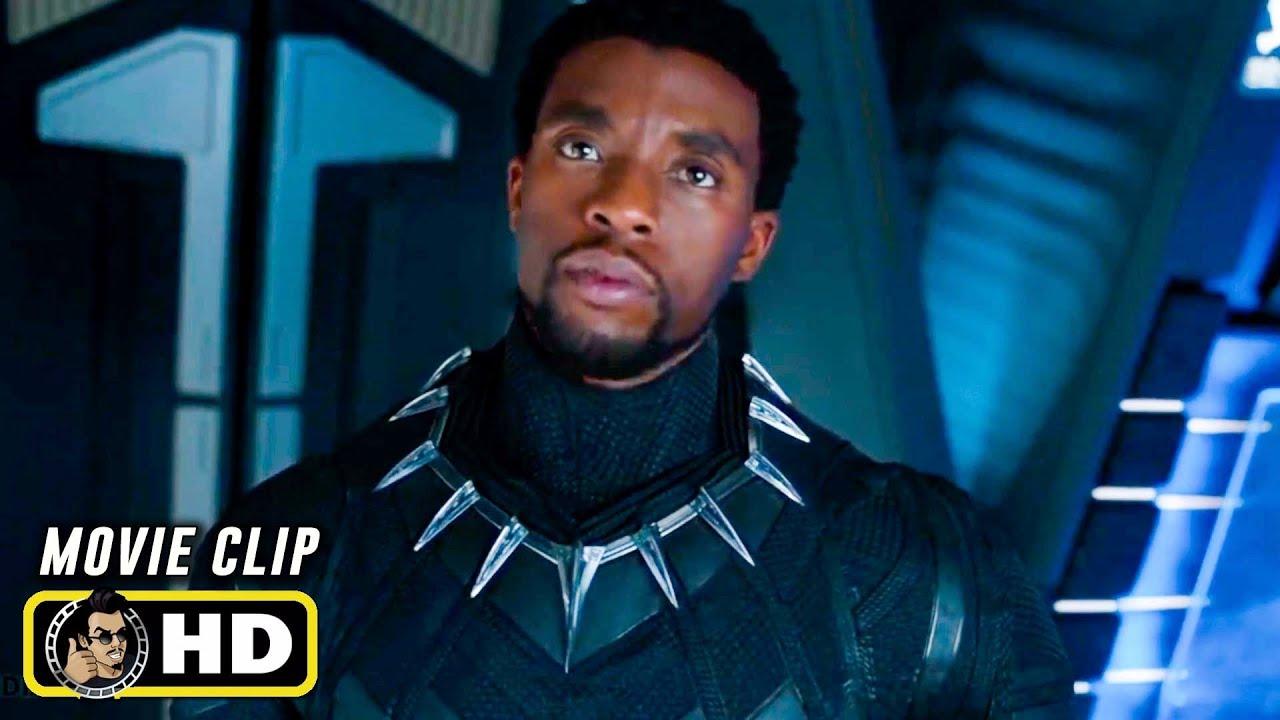 "BLACK PANTHER Clip - ""Never Freeze"" (2018) Chadwick Boseman - Marvel"