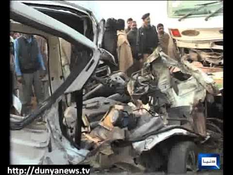 Dunya News- Gujranwala Road Accident