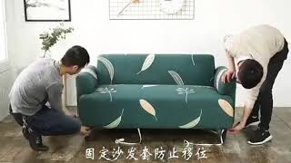 COVER SOFA SEATER Sarung SOFA Seater stretch elastis 2 SEATER Dekorasi Furniture Perlengkapan Rumah