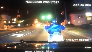 Cop runs biker off the road during fatal high-speed chase: Dash cam | USA