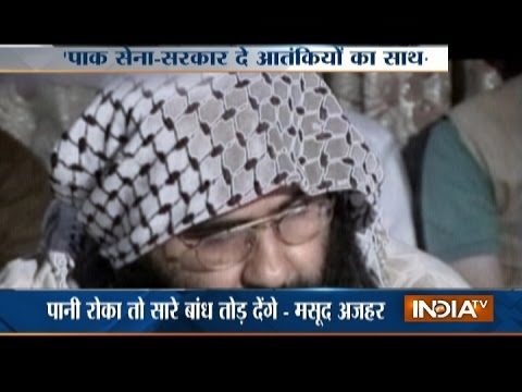 JeM Chief Masood Azhar Releases Video, Dares Modi to Stop Water of Sindhu
