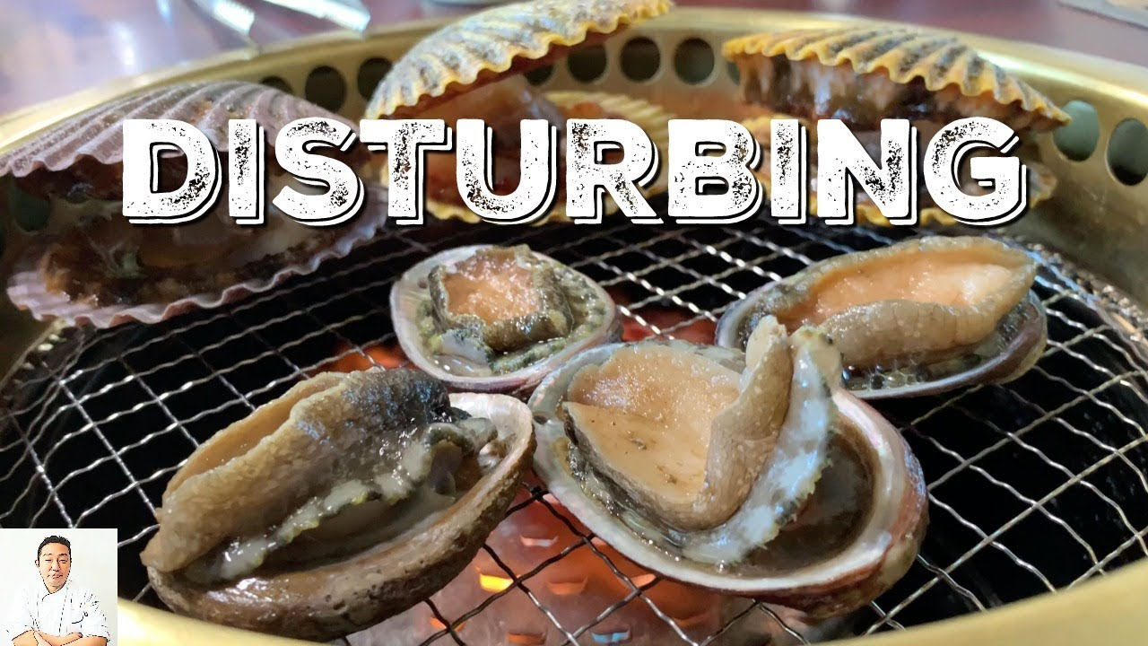 DISTURBING: LIVE GRILLED Seafood   Could You Eat This?