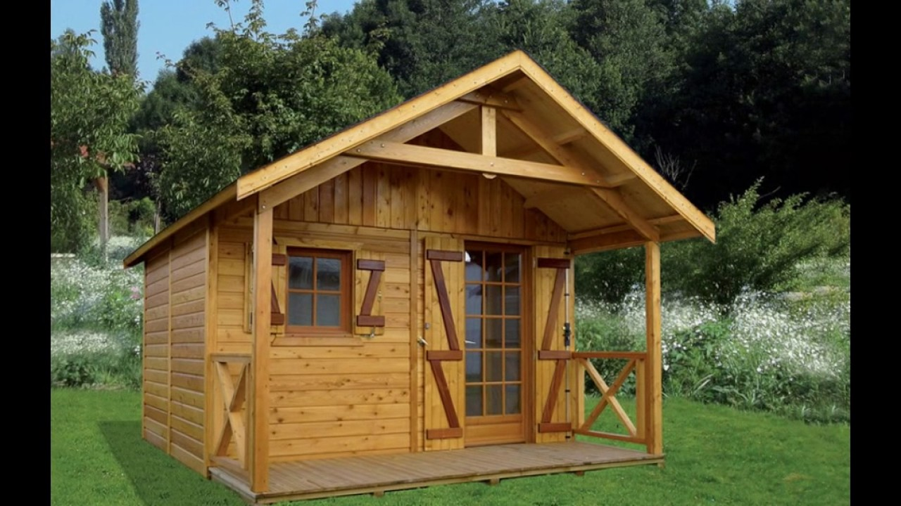 Abri de jardin en bois de fabrication Française