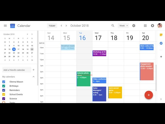 Calendario di Google