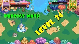 Prodigy Math Game: THE FIRST CHIEF | Level 34 | Part 18 - Games For Childrens