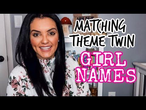 MATCHING THEME TWIN GIRL NAMES| BABY GIRL NAMES | LIFEWITHLO