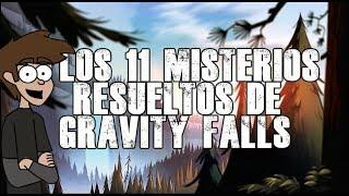 los 11 misterios resueltos de gravity falls