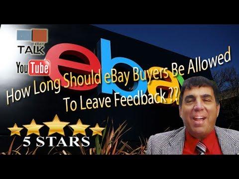 how to change feedback on ebay as buyer