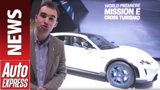 Porsche Mission E Cross Turismo Concept Surprises Geneva
