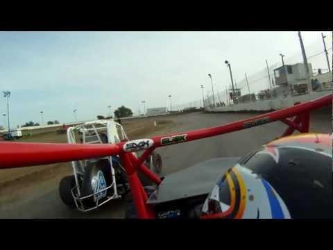 600 Micro Sprint Wingless 4/7/12 Heat 1 Cora Speedway