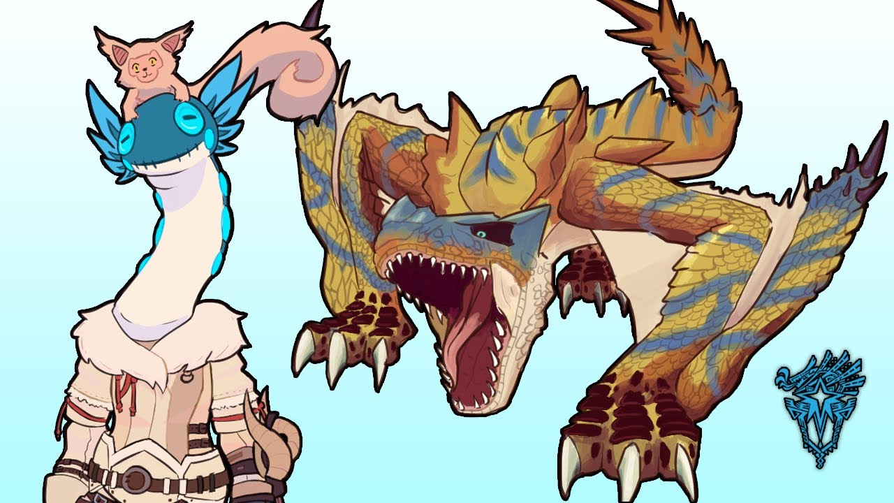 What it's like to play Monster Hunter World Iceborne thumbnail