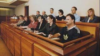 USA КИНО 1120. Одна из обязанностей гражданина США - Jury Duty.