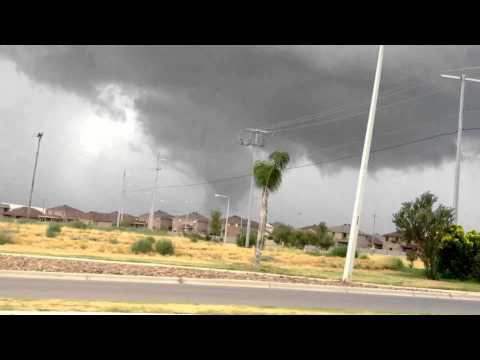 Funnel Cloud Laredo TX (BEST VERSION)